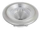 Led Spot Fixture 5W - Frame Color Silver Shiny - Clear Glass COB - White Light