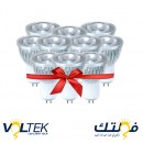 LED Spot Lamp COB 3W - White Light - Value Pack 10 Pcs