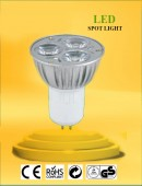 LED Spot Lamp 3W - White Light - Value Pack 10 Pcs