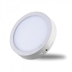 LED Panel 24W - Round External - White Light
