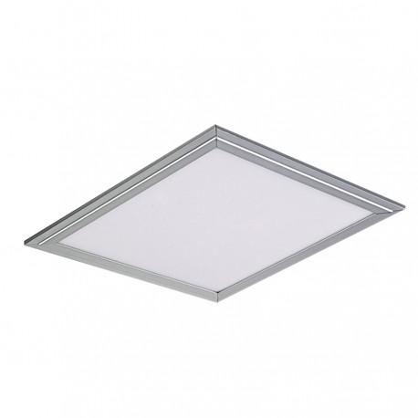 Led Panel Square - Internal - 36W - Day Light - Frame Silver - Size (59.5x59.5) cm.
