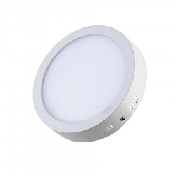 LED Panel 24W - Round External - Warm White Light