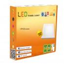 LED Panel 18W - Round External - White Light - Value Pack 6 Pcs