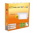 LED Panel 3W - Round Internal - White Light - Value Pack 10 Pcs