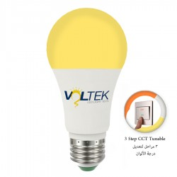 LED Bulb 9W - 3 Lighting Colors